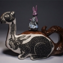 Bunny Hop Teapot